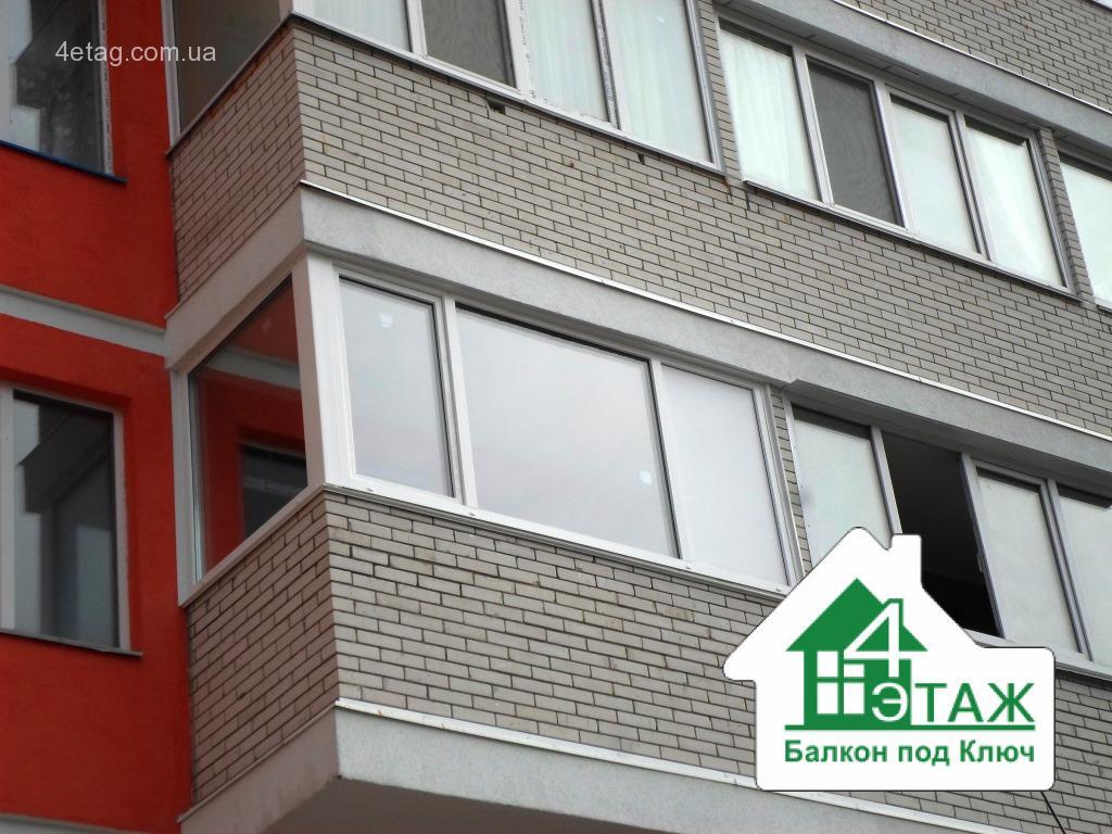 Установка балконов - цена, комплектация, способы.