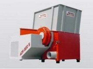 оборудования измельчения отходов
